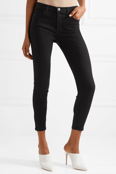 Current/Elliott The High Waist Stiletto Skinny Jeans