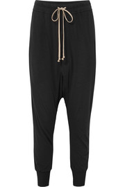 Rick Owens Jersey track pants