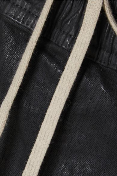 Rick Owens Jersey-Jogginghose aus einer gewachsten Baumwollmischung
