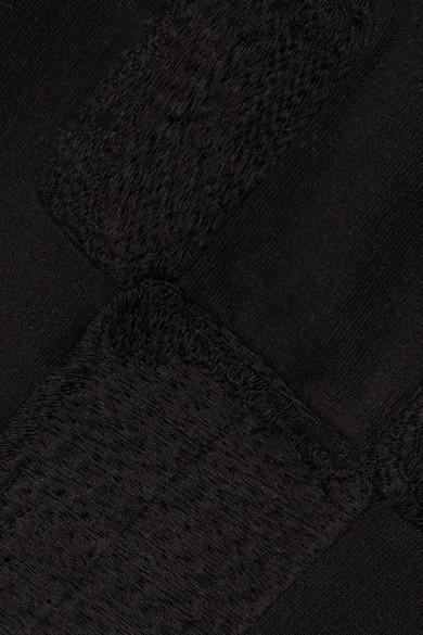 Rick Owens Besticktes Sweatshirt aus Baumwoll-Jersey