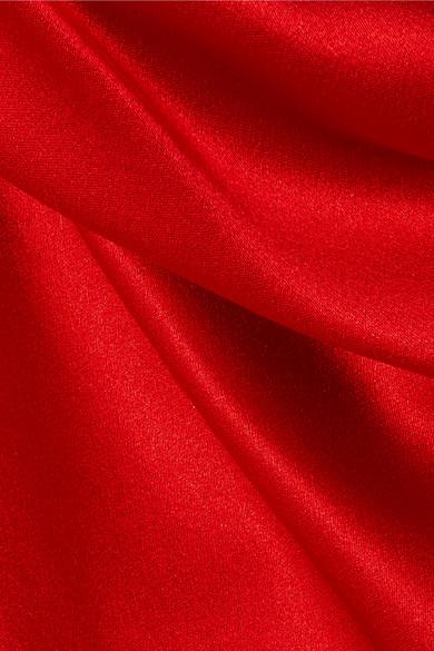 Verkauf Neuesten Kollektionen Gutes Verkauf Günstiger Preis Galvan Robe aus Seidensatin mit Neckholder Rabatt Kaufen Verkauf Billig H1IhW
