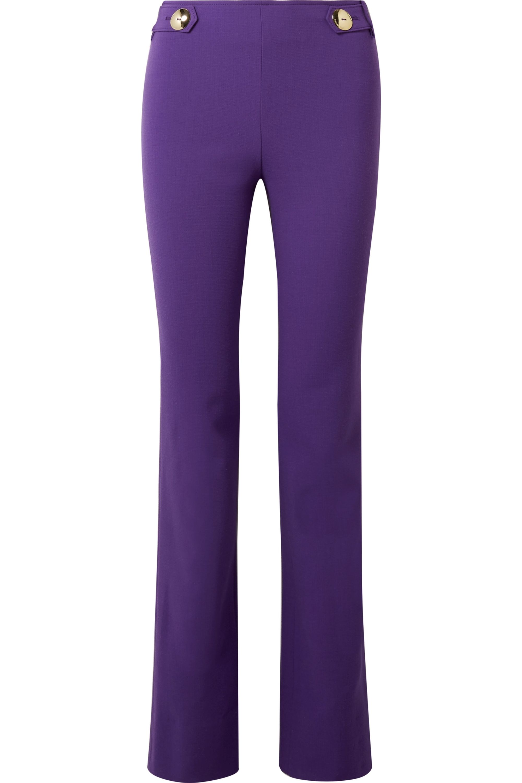 Emilio Pucci Wool-blend slim-leg pants
