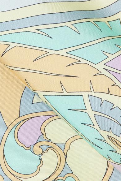 Billige Sammlungen Emilio Pucci Miami Oberteil aus bedruckter Seide Beste Günstig Online Freie Verschiffen-Angebote wcBIPuN9s