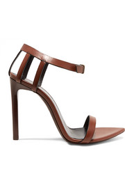 Saint Laurent Majorelle leather sandals