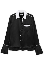 Equipment Huntley silk-satin shirt