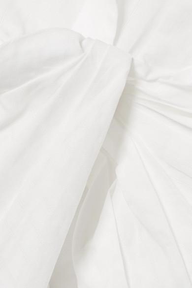 Jacquemus Bahia geknotetes Baumwollhemd