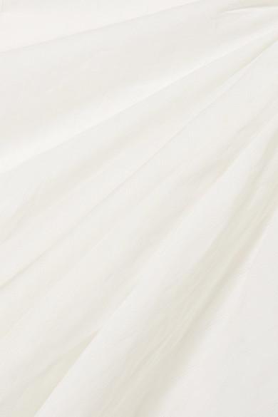 Jacquemus Maceio Minikleid aus Baumwolle mit Raffung