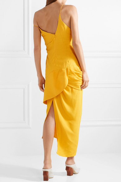 3780e9405f77 Jacquemus | La Robe Sol off-the-shoulder ruffled canvas midi dress ...