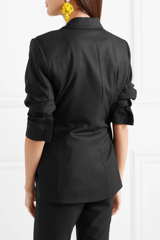 Jacquemus Bahia asymmetric wool blazer