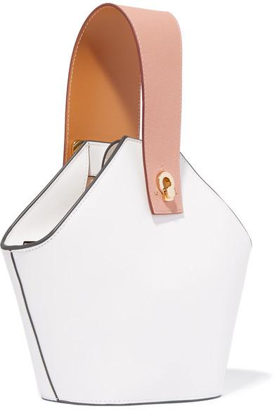 797cd3c36220 Danse Lente. Johnny mini two-tone leather bucket bag