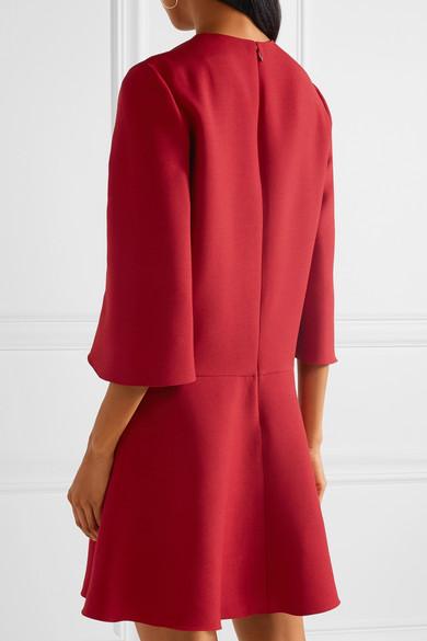 Mini-robe Valentino En Mélange De Laine Et De Soie