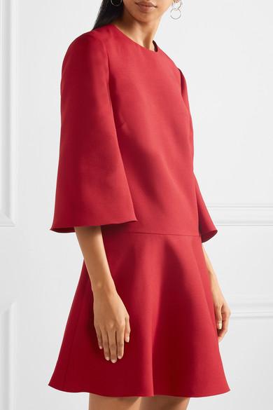 Valentino Minikleid aus einer Woll-Seidenmischung
