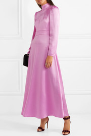 Valentino Satin-crepe gown