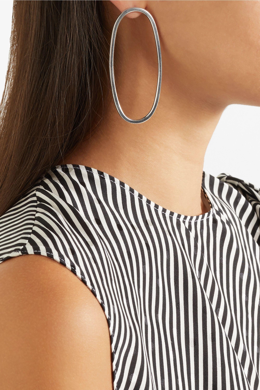 Sophie Buhai Imogen silver hoop earrings