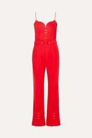 809da17997 Mugler - Embellished crepe jumpsuit