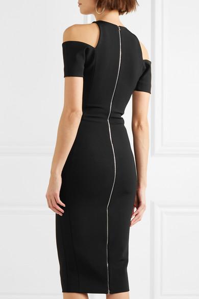 Victoria Beckham Kleid aus Jersey mit Cut-outs