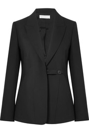 Victoria Beckham Wool and mohair-blend blazer