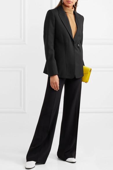 Victoria Beckham Blazer aus einer Woll-Mohairmischung