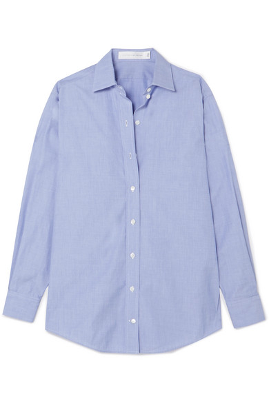 Victoria Beckham Oversized-Hemd aus Baumwoll-Chambray