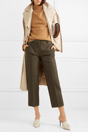 Victoria Beckham Cropped woven straight-leg pants