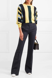 Victoria Beckham Canvas flared pants