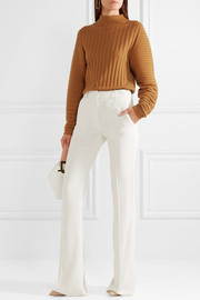 Victoria Beckham Stretch-crepe flared pants