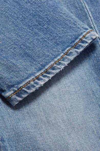 R13 Boy verkürzte Boyfriend-Jeans mit schmalem Bein