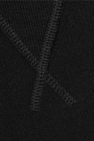R13 Minikleid aus einer Baumwollmischung