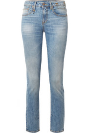 R13 Alison low-rise skinny jeans