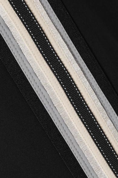 NO KA'OI Kana Jogginghose aus Stretch-Material mit Streifen