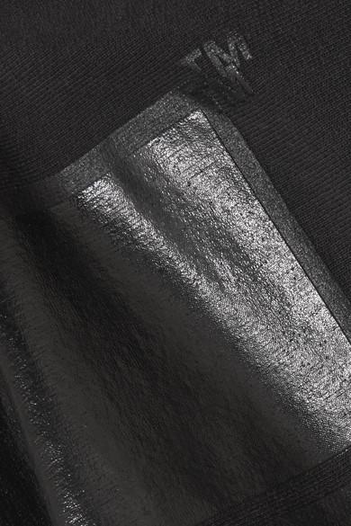 Off-White + Champion Oversized-Kapuzenoberteil mit Print