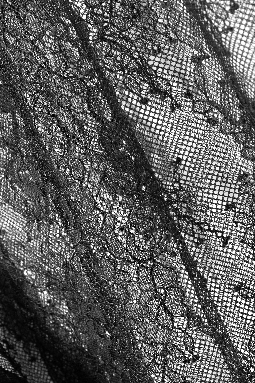 Off-White Cotton-blend lace T-shirt