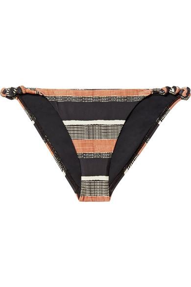 ViX Saona Rope bedrucktes Bikini-Höschen