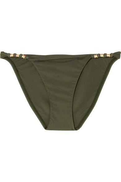 ViX Military Paula Bikini-Höschen mit Verzierung