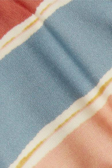 ViX Guadalupe gestreiftes Triangel-Bikini-Oberteil