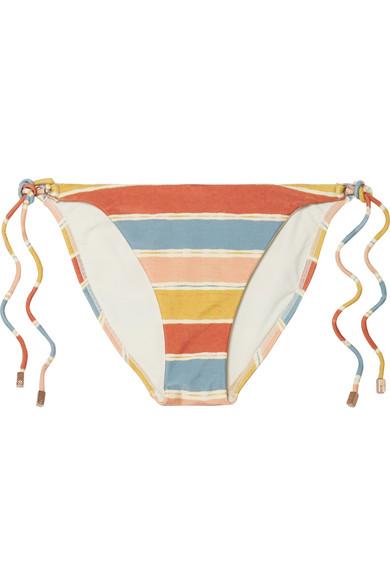 ViX Guadalupe gestreiftes Bikini-Höschen