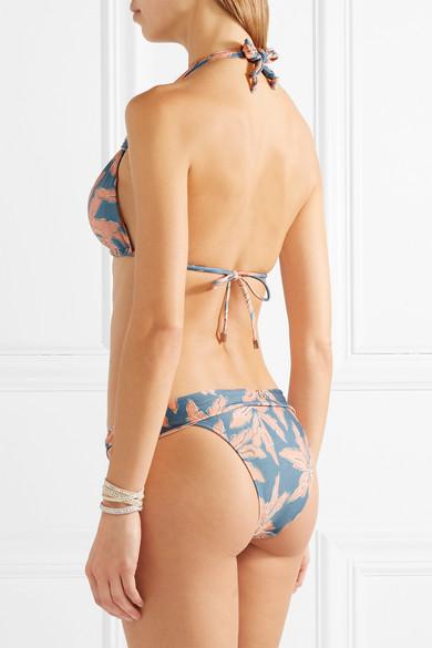 ViX Margarita Bia bedrucktes Bikini-Höschen