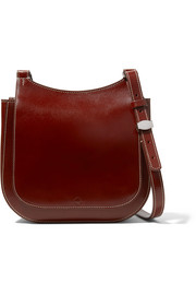The Row Hunting 9 patent-leather shoulder bag