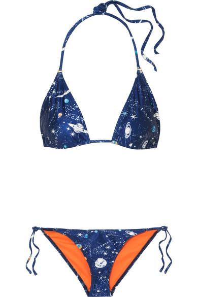 RIXO London Lucia and Kea bedruckter Triangel-Bikini
