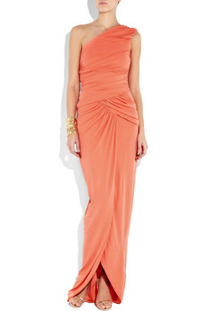 Michael Kors | One-shoulder stretch-jersey gown | NET-A-PORTER.COM from net-a-porter.com