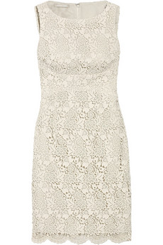 Michael Kors | Cotton-lace shift dress | NET-A-PORTER.COM from net-a-porter.com