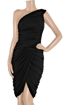 Michael Kors | Draped one-shouldered dress | NET-A-PORTER.COM from net-a-porter.com