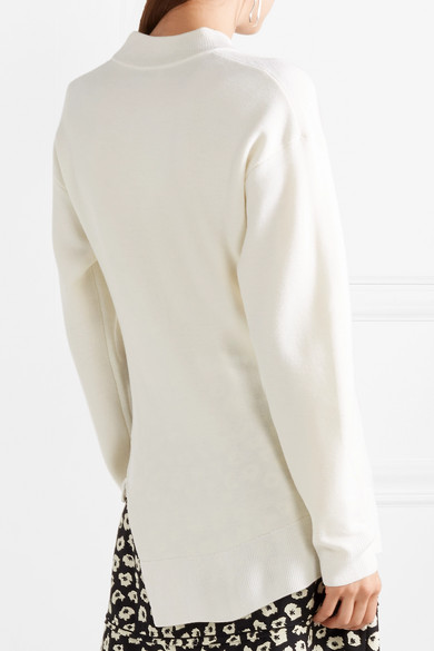 Niedrig Kosten Günstig Online Billig Verkauf Shop Carven Pullover aus einer Wollmischung mit Ketten Billig Verkauf Amazon sliaD5PWPI