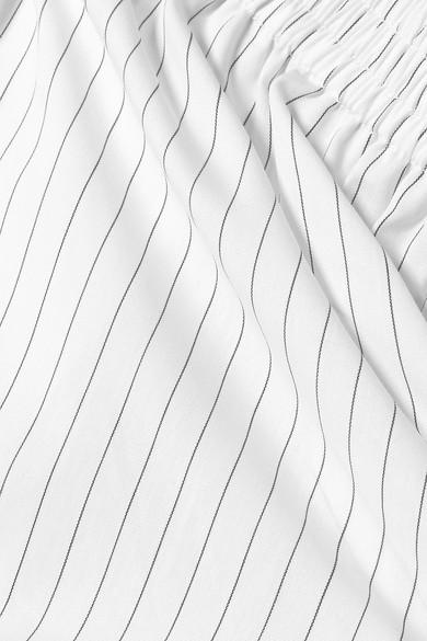 MM6 Maison Margiela Gestreifte Shorts aus Baumwollpopeline