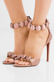 Bombe studded satin sandals