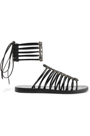 Alaïa Embellished leather sandals