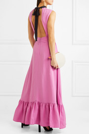 Rejina Pyo Ella backless woven maxi dress