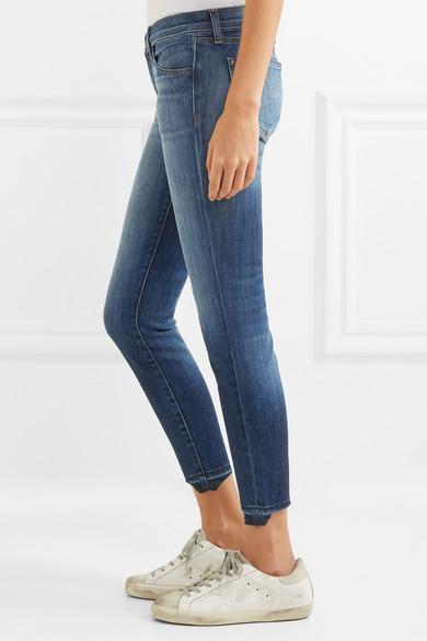 J Brand 9326 tief sitzende Skinny Jeans