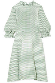 Rachel gingham woven mini dress
