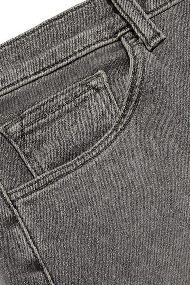J Brand Sadey verkürzte Boyfriend-Jeans mit schmalem Bein